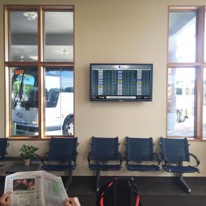 FlyteBoard at C&J Bus Lines